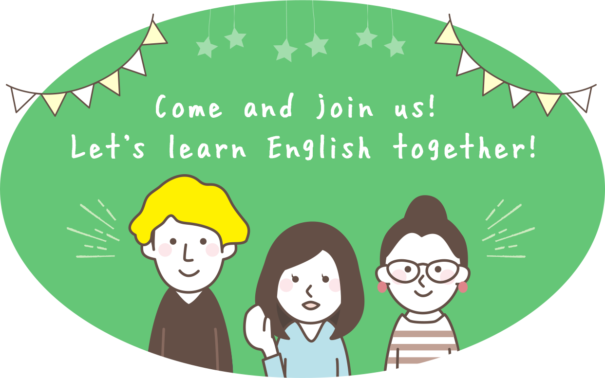 Come and join us! Let's learn English together!